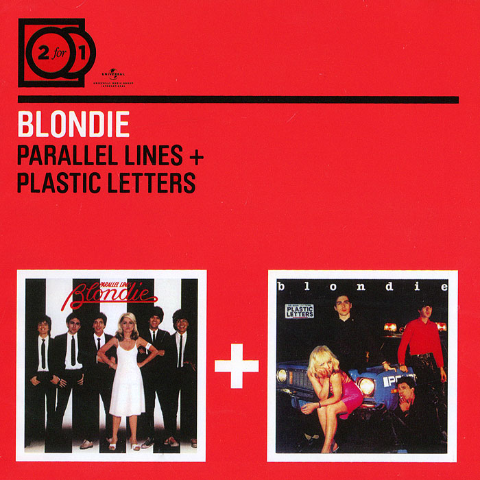 Blondie Blondie. Parallel Lines + Plastic Letters (2 CD) blondie blondie 6 lp