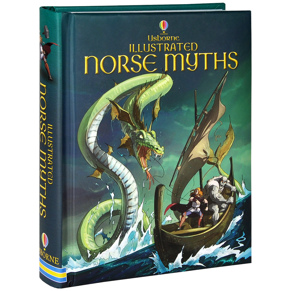 Illustrated Norse Myths illustrated norse myths