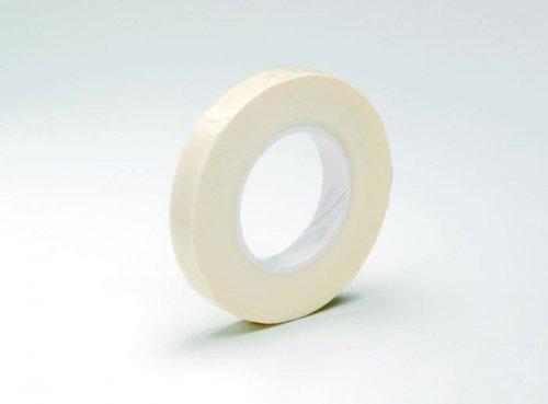 Лента флористическая Hobby Time, цвет: белый, ширина 1,3 мм, длина 28 м685217Флористическая лента Hobby Time - это тонкая эластичная лента в катушке с легким клеящим эффектом. Она липкая, тонкая, легкая, водонепроницаемая, хорошо растягивается. Лента бывает широкой и узкой. Широкая лента в основном используется для крепления к сосуду флористической губки, узкой лентой также иногда перекрещивается отверстие широкогорлового сосуда для закрепления растений. Флористическая лента может использоваться в квиллинге при изготовлении цветов на проволоке, конфетных деревьев, украшений из бисера, различного декора. В основном лента применяется для декорирования проволоки в букетах в соответствии с цветом букета. При намотке флористическую ленту необходимо немного натягивать, чтобы она лучше прилипала к стеблю цветка.Особенности флористической ленты: - Легко разглаживается и плотно прилегает к поверхности,- Принимает любую форму,- Позволяет продлить свежесть цветка, поэтому необходима при создании свадебных букетов и других аксессуаров из цветов,- Лентой можно загрунтовать гладкую поверхность перед закреплением на ней флористической композиции, чтобы фиксация последней была устойчивой. Ширина ленты: 1,3 мм.Длина ленты: 28 м.