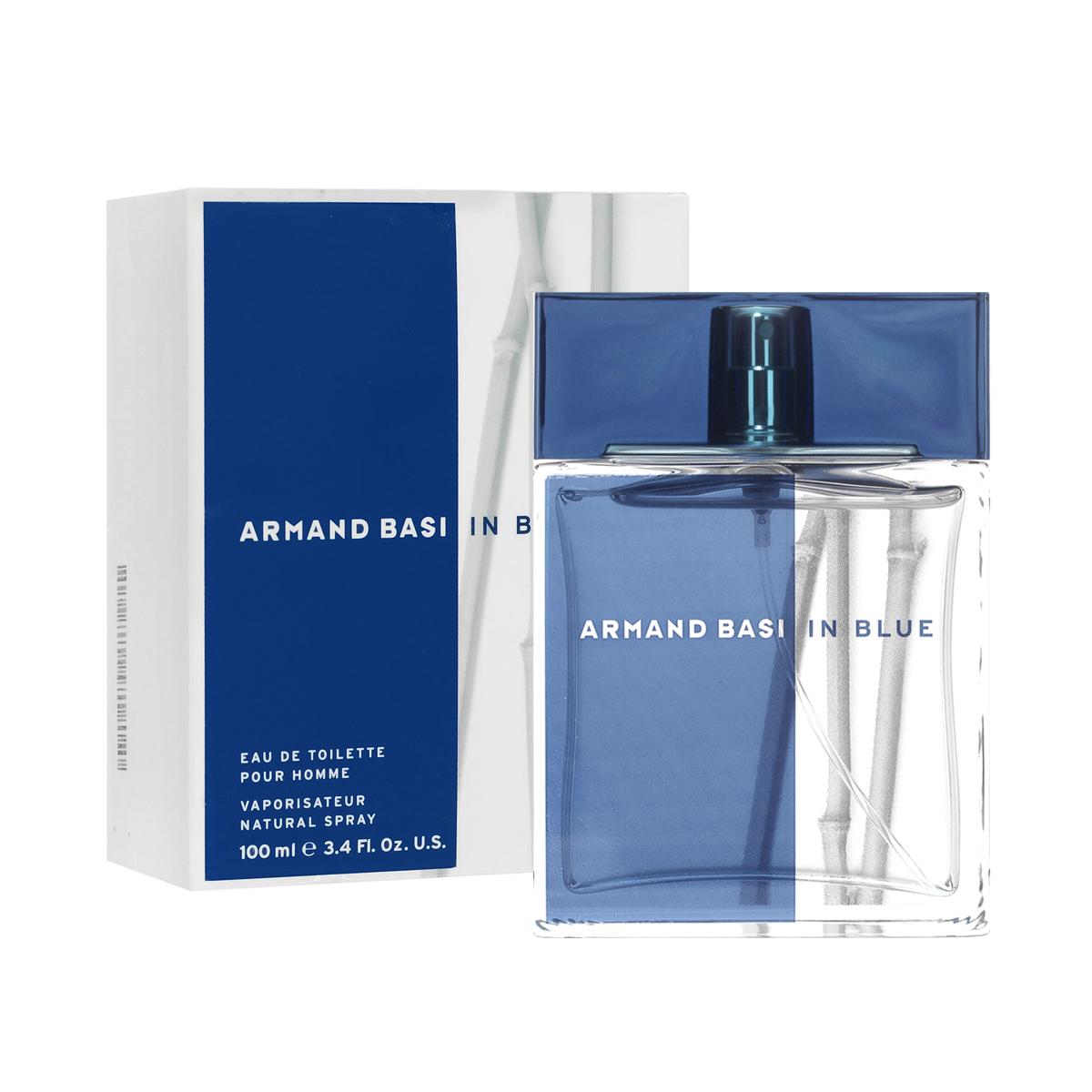"""Armand Basi Туалетная вода In Blue, мужская, 100 мл30304Аромат, созданный благодаря слиянию последних тенденций мировой моды и особого дизайнерского стиля Armand Basi. Продолжая развитие основной """"природной"""" концепции женского аромата Armand Basi In Red, аромат Armand Basi In Blue гармонично воплотил основные черты, присущие современному мужчине.Синий цвет - противоположность красного. Такой же чистоты, как сам воздух, такой же интенсивности, как сила и глубина океана. Синий как цвет моря, комбинация силы и спокойствия, страсти и нежности. Актуальность и изысканность сливаются в одно целое, отражая образ современного мужчины, энергичного, спортивного и одновременно целеустремленного, относящегося к природе как к источнику силы и творчества. Создатель аромата - Alberto Morillas.Классификация аромата: древесный.Пирамида аромата:Верхние ноты: мандарин, бергамот, грейпфрут, листья кориандра.Ноты сердца: лотос, нероли, перец, ростки черной смородины.Ноты шлейфа: дубовый мох, древесные ноты, пачули.Ключевые словаМужественный, чувственный, энергичный!Туалетная вода - один из самых популярных видов парфюмерной продукции. Туалетная вода содержит 4-10%парфюмерного экстракта. Главные достоинства данного типа продукции заключаются в доступной цене, разнообразии форматов (как правило, 30, 50, 75, 100 мл), удобстве использования (чаще всего - спрей). Идеальна для дневного использования.Товар сертифицирован."""
