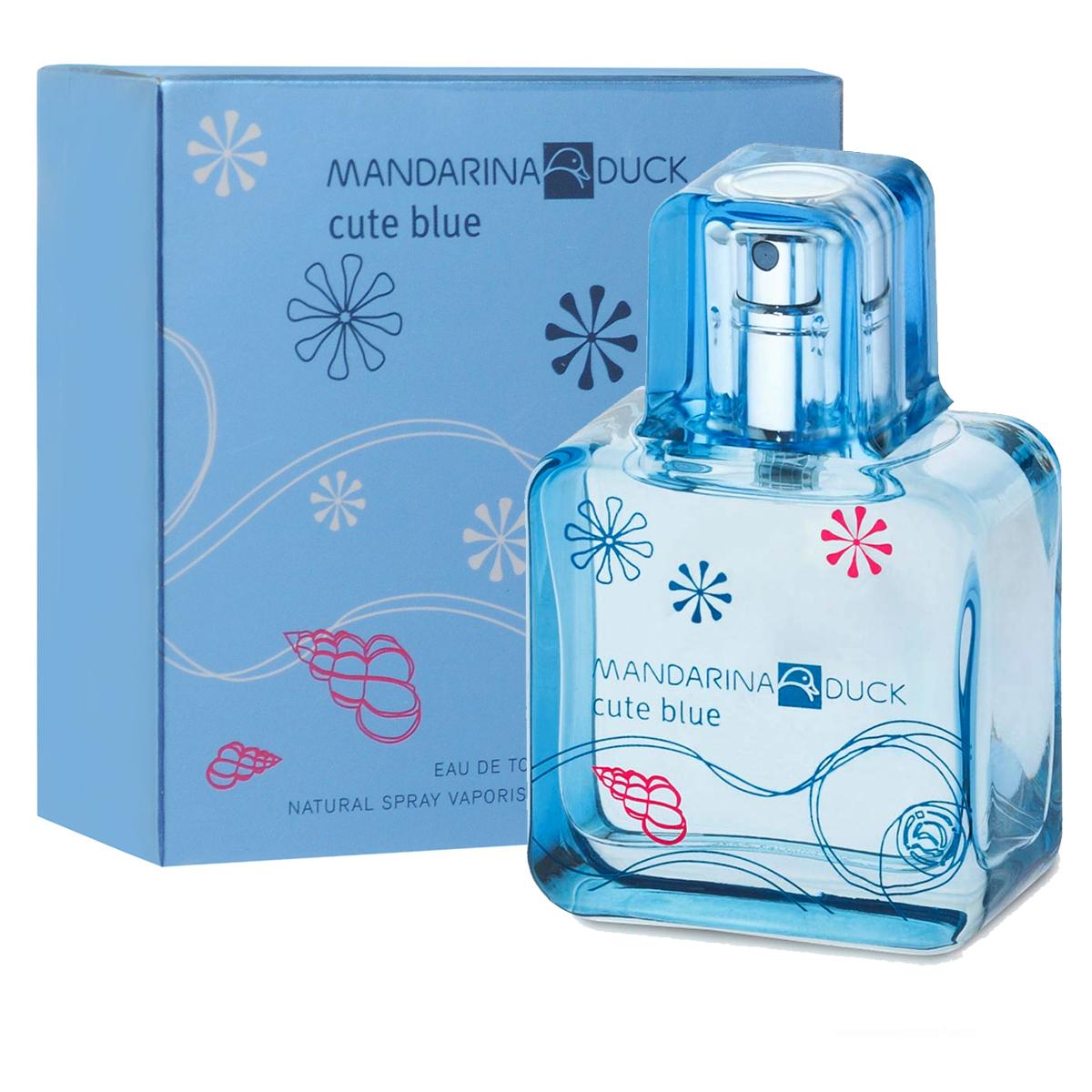 Mandarina Duck Туалетная вода Cute Blue, женская, 30 мл47102Туалетная вода Cute Blue от Mandarina Duck - свежий водный и цветочно-фруктовый аромат для тех, кто любит природу и открытое пространство. Древесная теплота базовых нот гармонизирует это парфюмерное творение.Освежающий аромат тысячи лепестков, парящих в воздухе…Аромат счастья, витающего в светлом голубом небе.Лотос, магнолия и цветы грейпфрута соединяются с игривым имбирем и нотами росы.Вуаль белого мускуса, серой амбры и кедра наполняет аромат нежным сексуальным шлейфом…Классификация аромата: свежий, цветочно-фруктовый.Пирамида аромата:Верхние ноты: цветы грейпфрута, бергамот, голубой лотос.Ноты сердца: свежий имбирь, магнолия, воздушная дымка.Ноты шлейфа: масло техасского кедра, серая амбра, белый мускус.Ключевые словаЛегкий, свежий, сексуальный!Туалетная вода - один из самых популярных видов парфюмерной продукции. Туалетная вода содержит 4-10%парфюмерного экстракта. Главные достоинства данного типа продукции заключаются в доступной цене, разнообразии форматов (как правило, 30, 50, 75, 100 мл), удобстве использования (чаще всего - спрей). Идеальна для дневного использования. Товар сертифицирован.