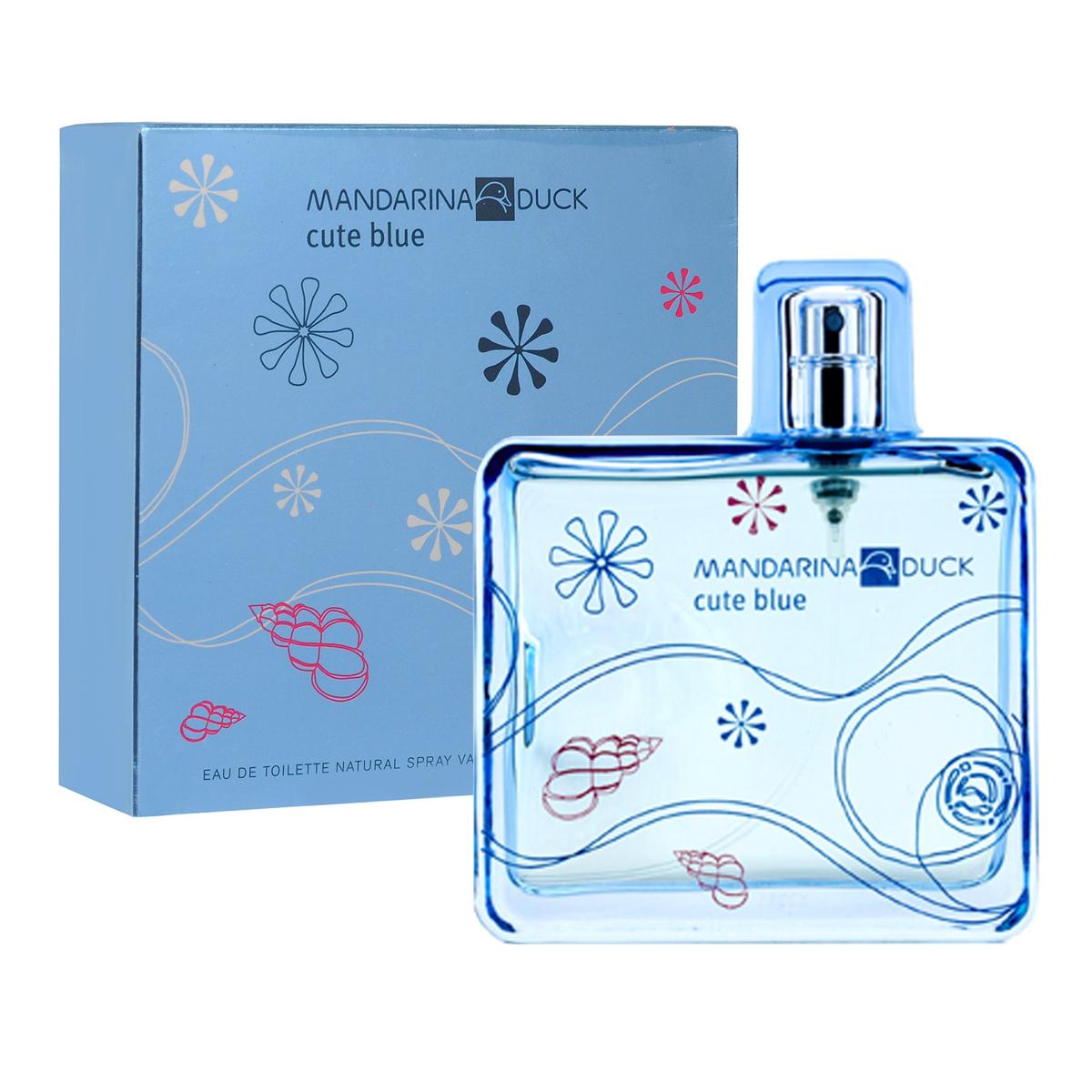 Mandarina Duck Туалетная вода Cute Blue, женская, 100 мл туалетная вода mandarina duck blue men объем 50 мл вес 100 00