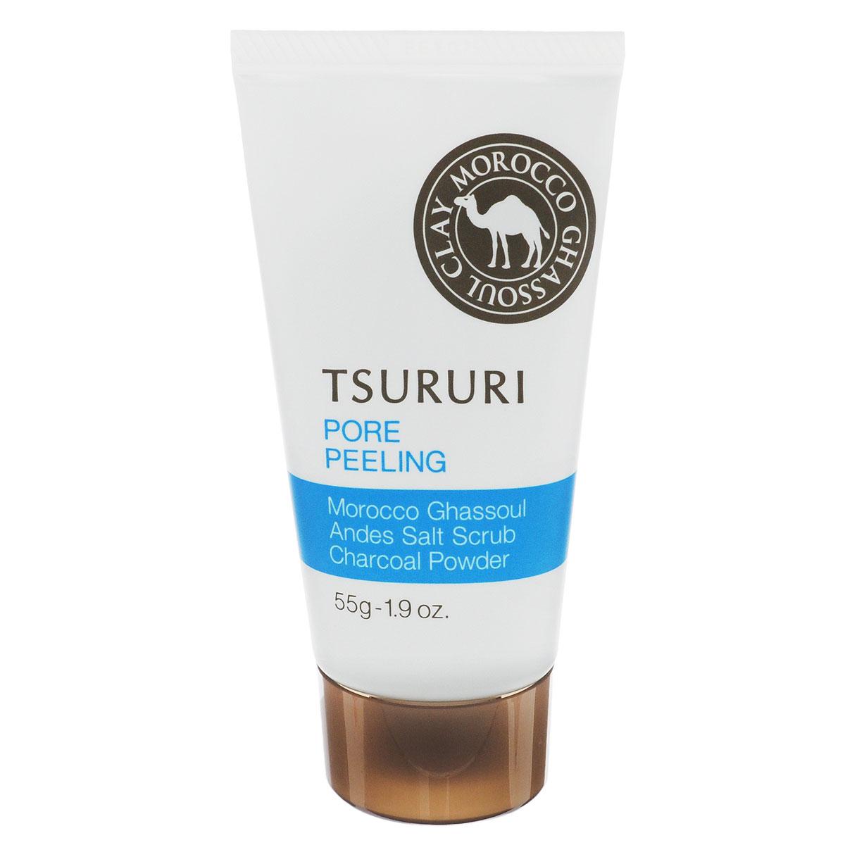 BCL Пилинг для лица Tsururi, очищающий поры, 55 г046455В порах кожи скапливаются загрязнения, продукты выделения сальных желез и остатки косметических средств (пудры, тонального крема). Активные компоненты пилинг-геля, глубоко проникая в поры кожи, абсорбируют и удаляют загрязнения, которые, как известно, часто становятся причиной появления черных точек и расширенных пор.Мельчайшие частицы пилинга скатывают загрязнения, способствуя их быстрому и эффективному удалению из пор. Пилинг глубоко очищает, разглаживает, смягчает кожу, выравнивает ее цвет.Активные компоненты:- Марокканская глина Гассуль - природный очищающий компонент;- гранулы активированного древесного угля обладают абсорбирующими свойствами;- частицы каменной соли отшелушивают ороговевшие участки кожи;- экстракт артишока сужает поры;- гиалуроновая кислота увлажняет;- экстракт перечной мяты и ментол – охлаждающие компоненты. Обладает освежающим ароматом грейпфрута.Товар сертифицирован.