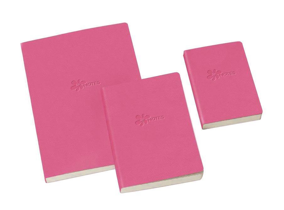 книга для записей, B7, FLOWER, линейка, цвет: розовый29816