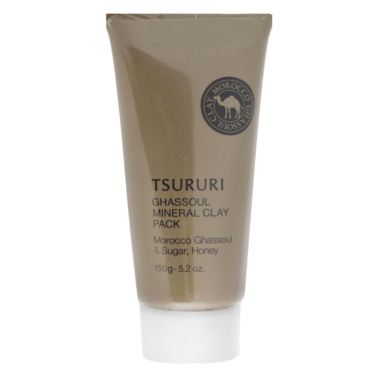 BCL Крем-маска для лица Tsururi, с глиной, 150 г046592Маска для лица с каолином и марокканской глиной Гассуль прекрасно очищает поры кожи от загрязнений, излишков кожного сала и ороговевших клеток эпидермиса. Тусклая кожа заметно светлеет, становится гладкой, без загрязненных расширенных пор и черных точек.Комбинация из натуральных минеральных компонентов – каолина, марокканской глины Гассуль, масла арганы и растительных экстрактов нежно и бережно ухаживает за кожей. Исключительные абсорбирующие свойства глины Гассуль помогают крем-маске глубоко проникнуть в поры кожи и удалить самые глубокие загрязнения. Маска мягко очищает кожу, минерализуя и восстанавливая ее структуру. Мед и маточное молочко ухаживают за кожей, делая ее мягкой и шелковистой. После снятия маски рекомендуется сделать легкий массаж кожи лица с помощью любого питательного крема. Не содержит искусственных красителей. Имеет естественный оттенок глины.Товар сертифицирован.