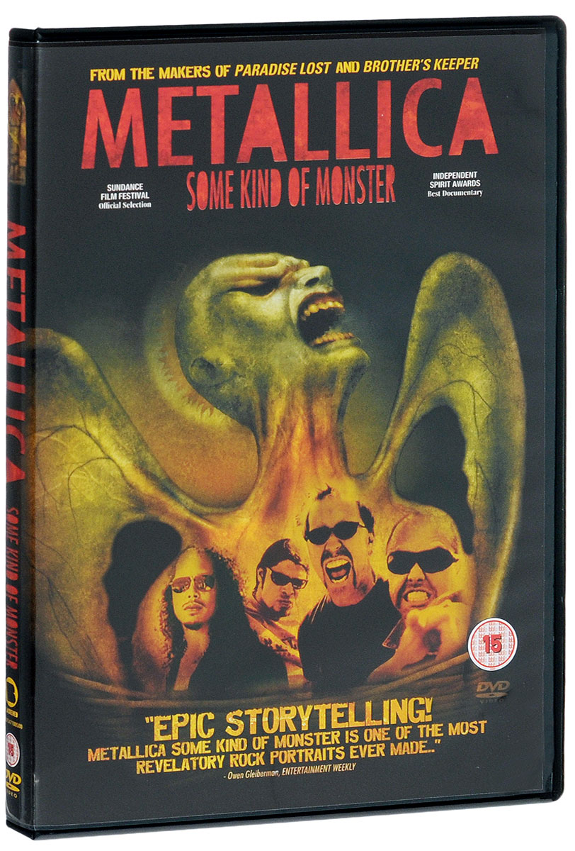 Metallica: Some Kind Of Monster (2 DVD) a monster calls film tie in