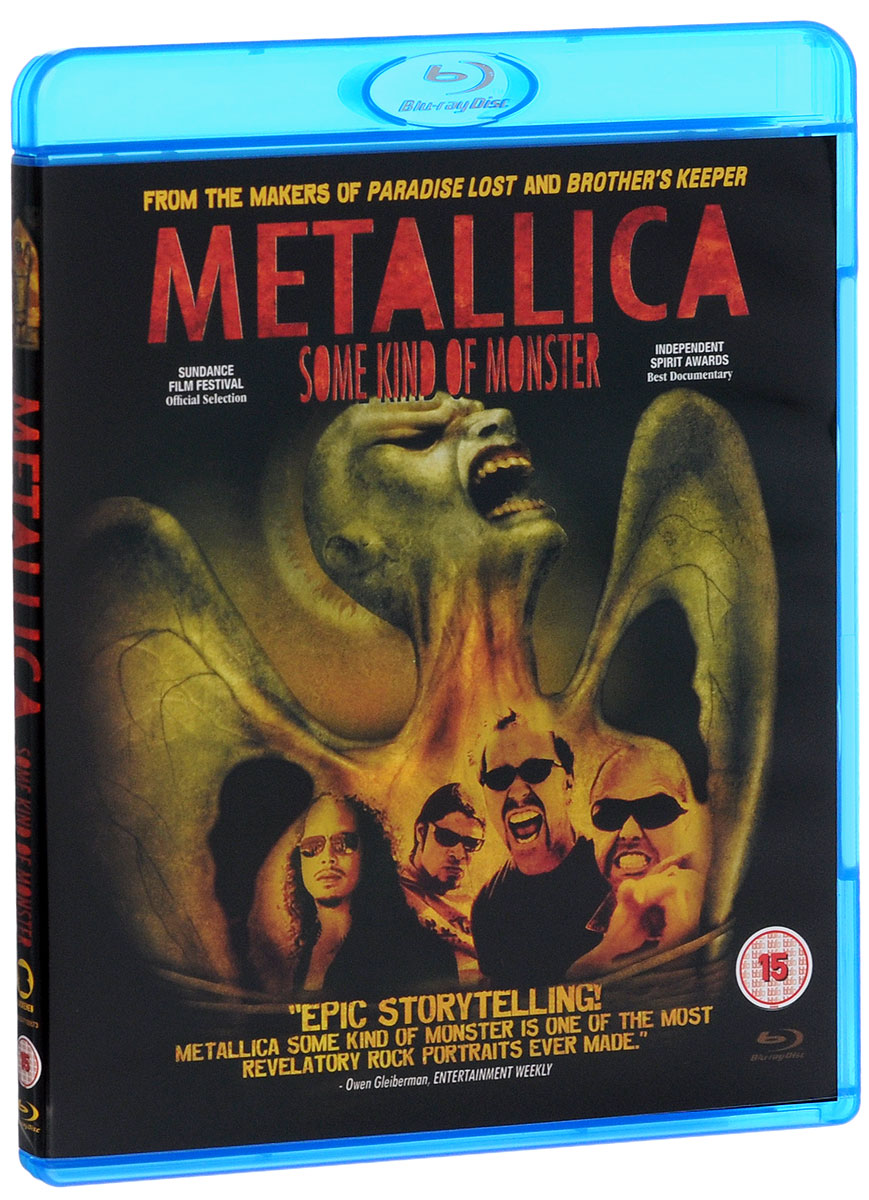 Metallica: Some Kind Of Monster (Blu-ray + DVD) a monster calls film tie in