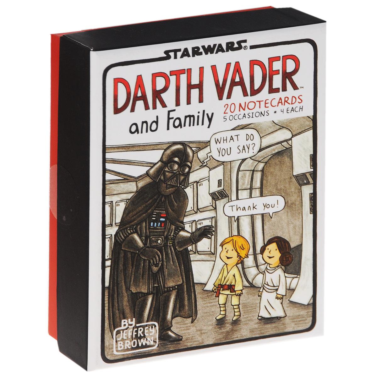 Darth Vader and Family (комплект из 20 открыток) sw darth vader cry of shadows