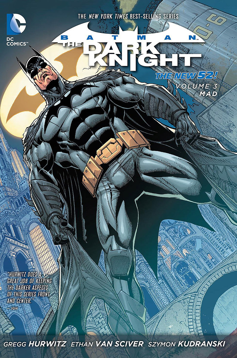 Batman - The Dark Knight: Volume 3: Mad batman detective comics volume 8 blood of hereos
