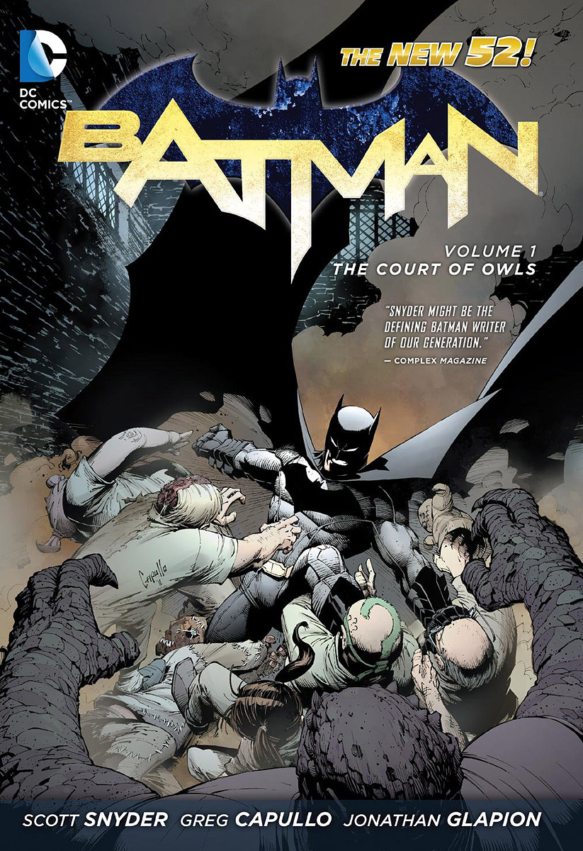 True batman volume 1 the court of owls