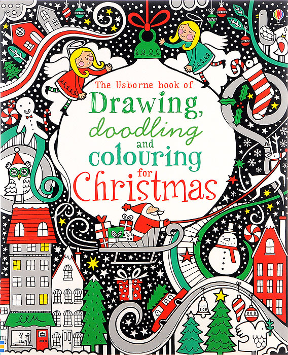 Drawing, Doodling & Colouring for Christmas minions the doodle book