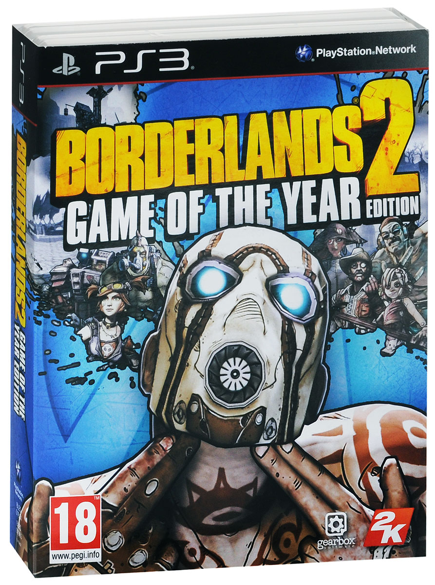 Borderlands 2. Game of the Year Edition (PS3), Gearbox Software