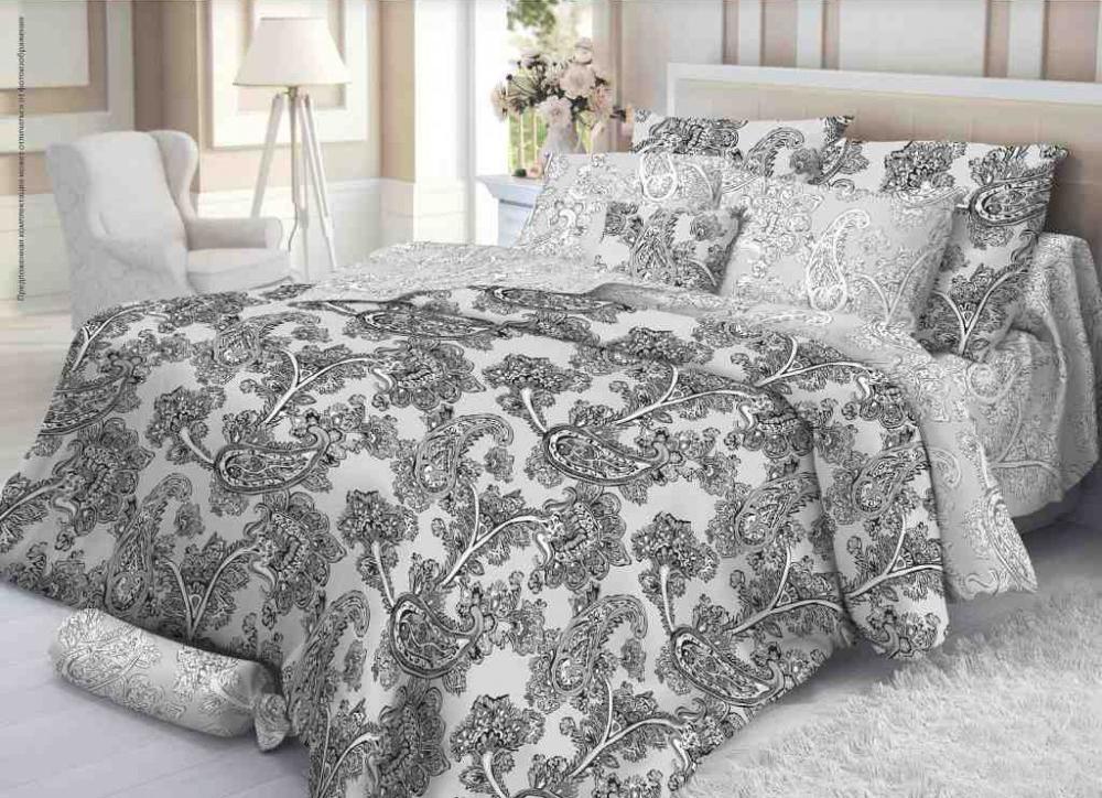 Комплект белья Verossa Сатин рисунок Grace 2,0СП4600001805602Комплект постельного белья Verossa «Grace» — это превосходное, стильное бельё, предназначенное для тех, кто любит и ценит себя и свой комфорт. Оно изготовлено из 100% хлопковой ткани - сатина, благодаря высокому номеру пряжи, атласному переплетению, а также высокой плотности ткани, сатин является невероятно мягкой и гладкой тканью с особым блеском, а также высокой прочностью.Комплект постельного белья Verossa «Grace» — признак хорошего вкуса и практичности.Пошив на автоматической линии – гарантия соблюдения точности размеров изделий.Высокое качество тканей – гарантия легкости и долговечности эксплуатации белья: ткани не линяют, не садятся, не пилингуются.Качественная упаковка продукта – привлекательный внешний вид, возможность использовать продукт как подарок.