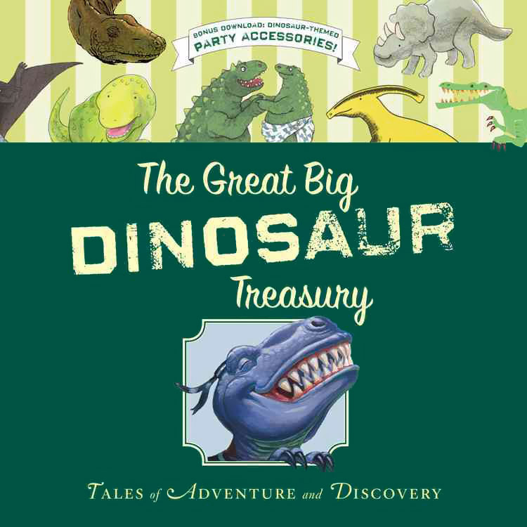 цена на The Great Big Dinosaur Treasury