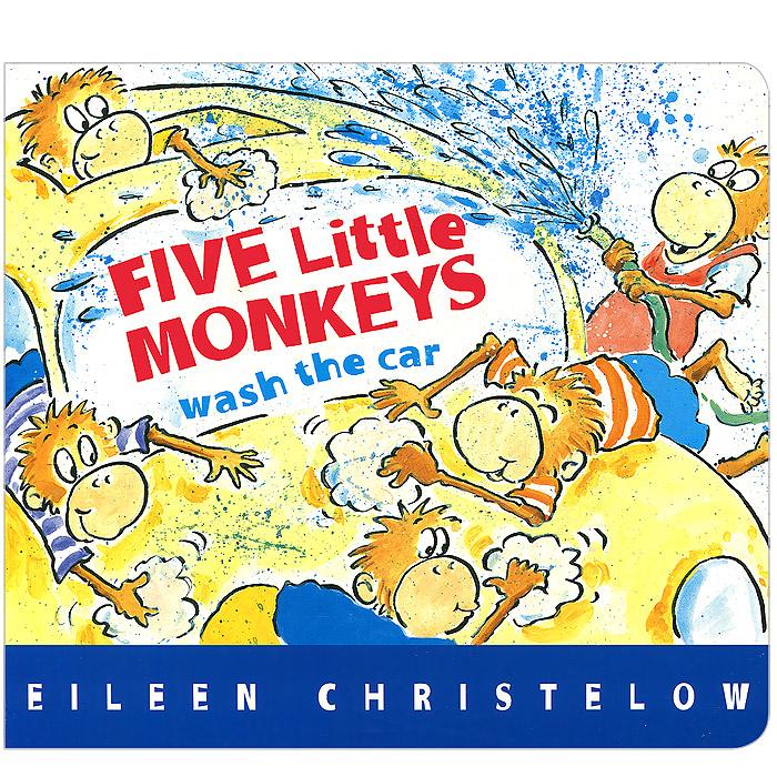 Купить Five Little Monkeys Wash the Car