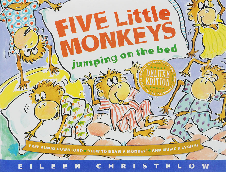 Купить Five Little Monkeys Jumping on the Bed