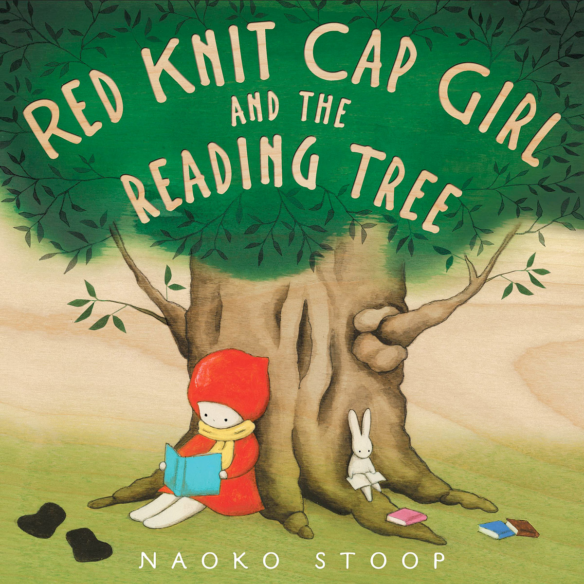 Red Knit Cap Girl and the Reading Tree the halloween tree