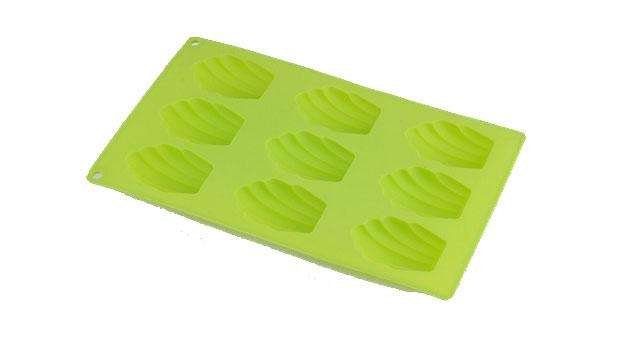 Форма для выпечки Bekker Ракушки, силиконовая, цвет: салатовый, 9 ячеекBK-9469Форма для выпечки Bekker Ракушки, выполненная из силикона, будет отличным выбором для всех любителей домашней выпечки. Форма имеет 9 ячеек в виде ракушек. Изделие не требует смазывания и выдерживает диапазон температур от -50°С до +250°С. Быстро моется.Порадуйте себя и своих близких качественным и функциональным подарком.Можно мыть в посудомоечной машине. Размер формы для выпечки: 29 х 17,5 х 2,5 см. Размер ячейки: 6,5 см х 4,5 см х 2,5 см.