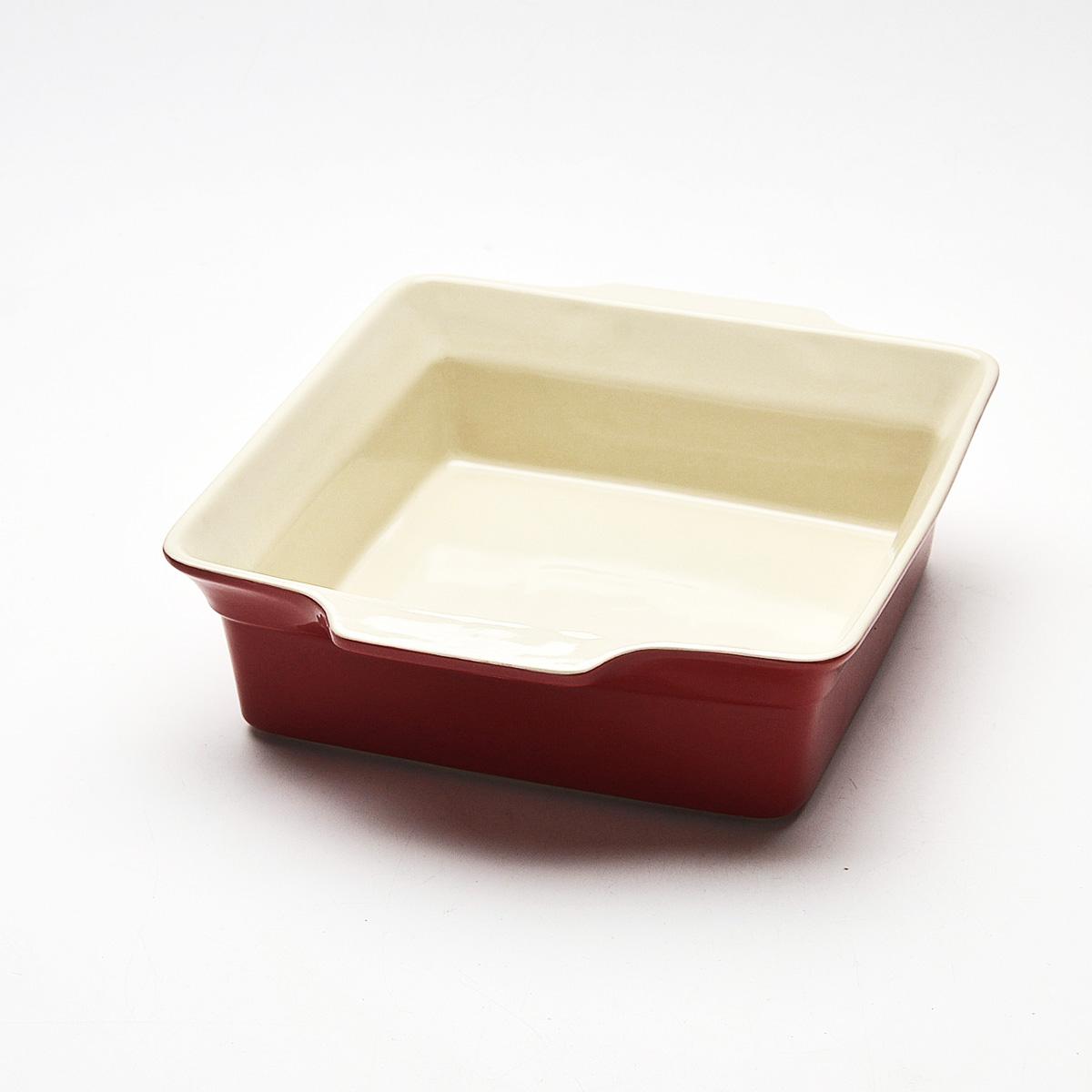 """Противень """"Mayer & Boch"""", квадратный, цвет: красный, 30,5 см х 26 см. 21816"""