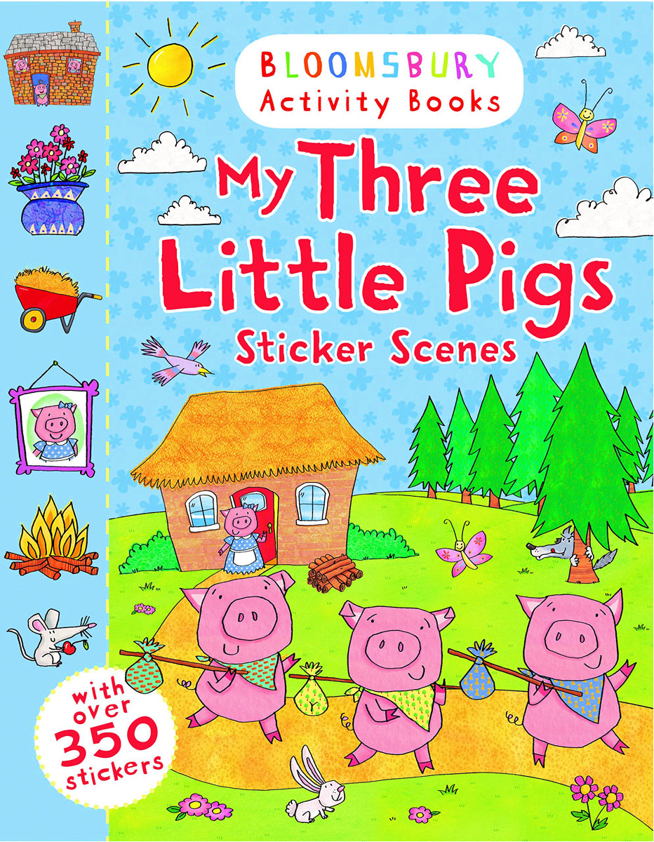My Three Little Pigs: Sticker Scenes little children s knights and castles activity book