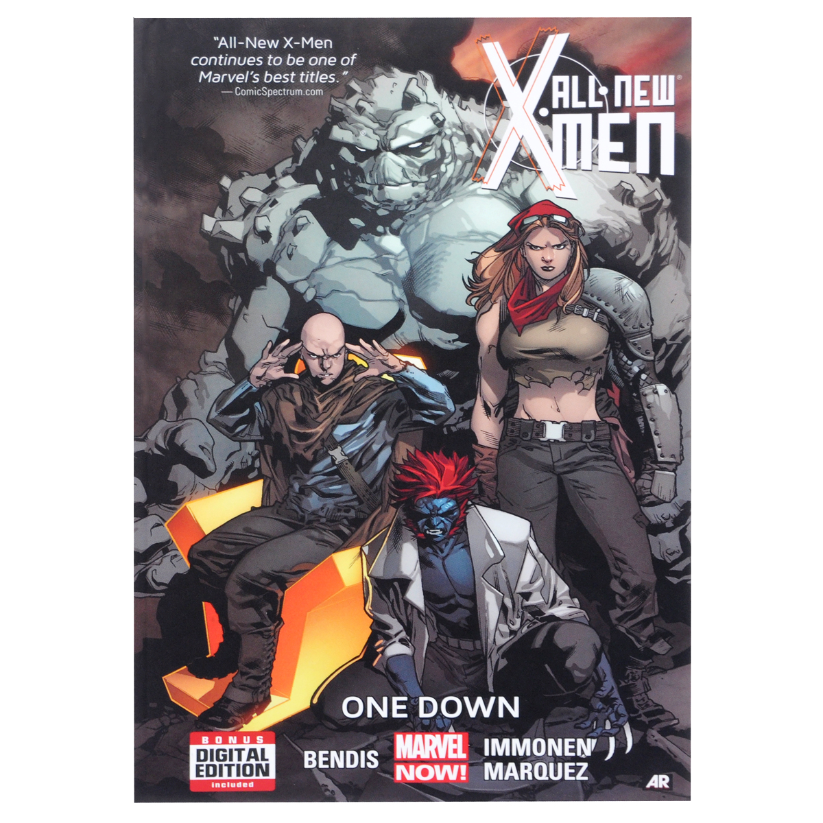 All-New X-Men: Volume 5: One Down all new invaders volume 3 the martians are coming