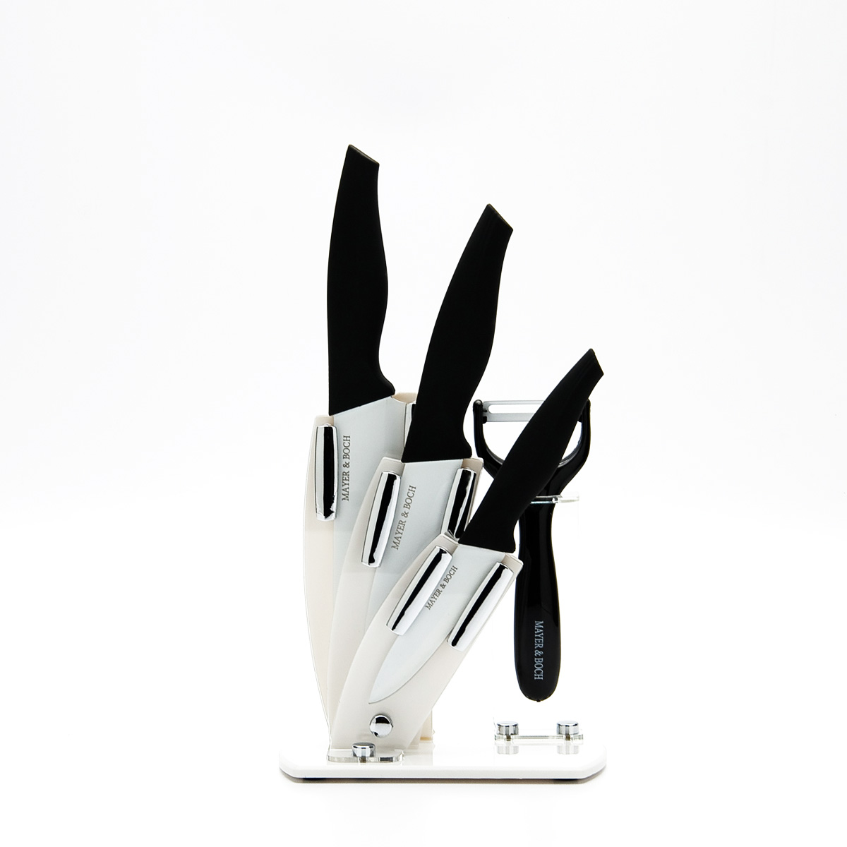 Набор ножей Mayer & Boch, 5 предметов. 23321 набор кухонных ножей bohmann на подставке 7 предметов