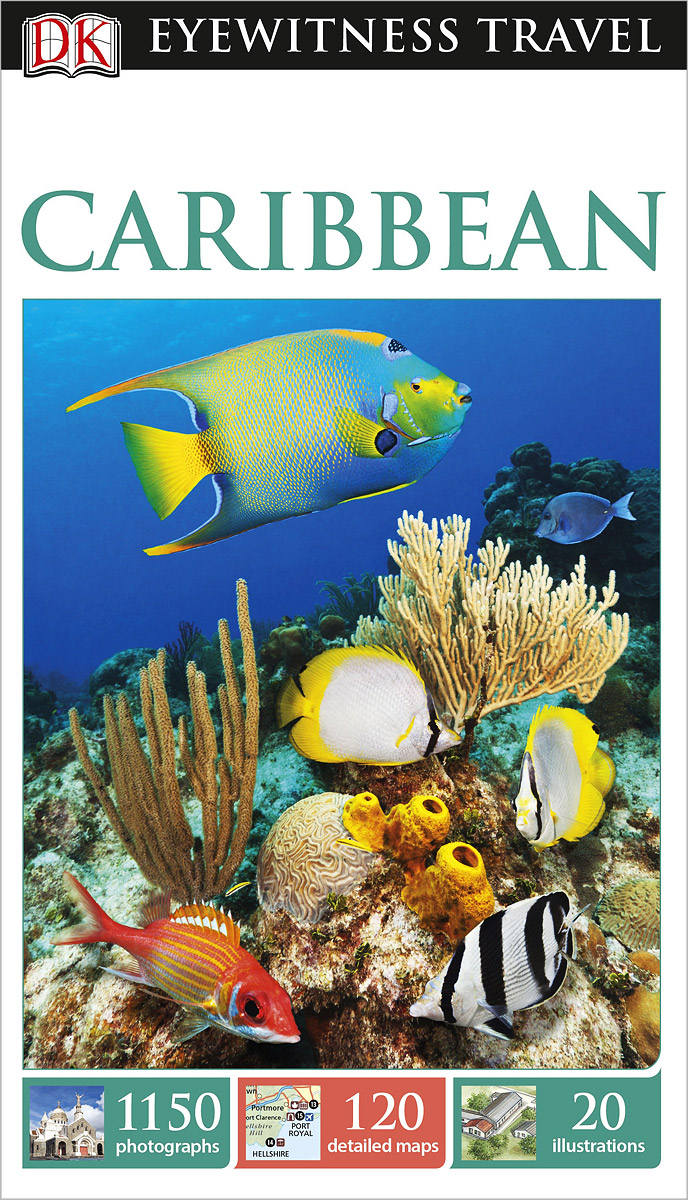 Фото Caribbean dk eyewitness top 10 travel guide scotland
