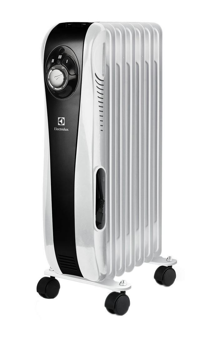 Electrolux EOH/M-5157 Sport LINEEOH/M-5157 Sport LINEElectrolux EOH/M-5157 - масляный радиатор оснащен технологией MAX time heat, системой управления Easy manage и уникальной системой скрытого хранения шнура, снабжен высоконадежным термостатом и защитой от перегрева.