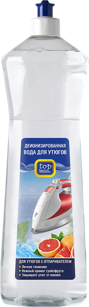 Деионизированная вода Top House для утюгов с отпаривателем, с ароматом грейпфрута, 1 л391275Деионизированная вода для утюгов с отпаривателем Top House произведена в Германии по новейшей технологии с учетом рекомендаций производителей утюгов. Специально разработана для использования в утюгах с отпаривателем. Вода прошла специальную обработку, в процессе которой из воды удалили ионы, образующие накипь. - Облегчает глажение. - Предохраняет внутренние детали утюга от образования известкового налета и накипи. - Придает белью нежный аромат грейпфрута. - Регулярное использование деионизированной воды продлевает срок службы вашего утюга. - Избавляет белье от появления пятен в процессе глажения. Состав: деионизированная вода, консерванты (метилизотиазолинон, бензизотиазолинон), ароматизатор (бензиловый спирт). Товар сертифицирован.