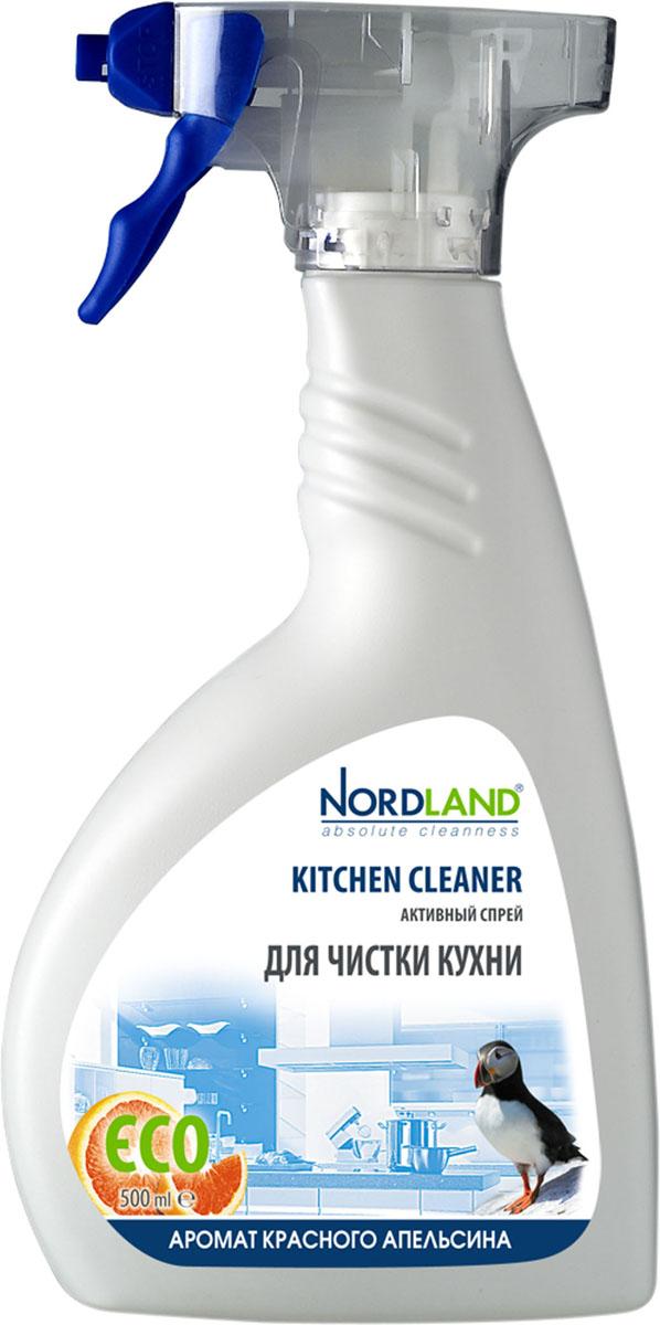 Спрей для чистки кухни Nordland, с ароматом красного апельсина, 500 мл