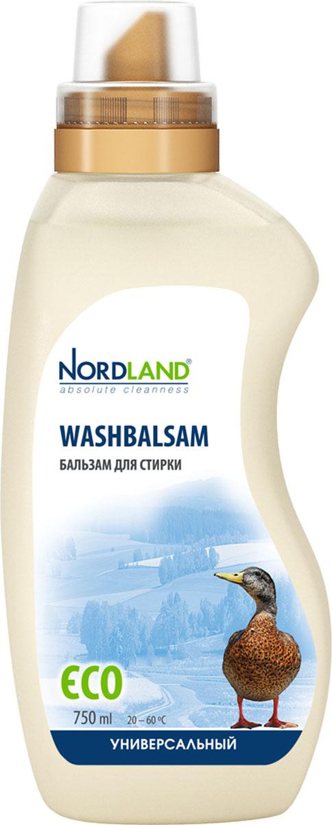 Бальзам для стирки универсальный Nordland Washbalsam, 750 мл391077Универсальный бальзам для стирки Nordland Washbalsam предназначен для стирки белого и цветного белья из хлопчатобумажных, льняных, синтетических и смесовых тканей. Содержит безопасные, не раздражающие кожу компоненты. Подходит для всех типов стиральных машин и ручной стирки при температуре от +20° до +60°С. - Дерматологически протестировано - Без красителей - Антиаллергенный состав - Экономичный расход - Действует уже при +20°С - Биораспад 100% Состав: 5-15% анионные ПАВ, неионные ПАВ, мыло; менее 5% фосфонаты, энзимы, ароматизатор, оптический отбеливатель, консерванты (метилхлороизотиазолинон, метилизотиазолинон).Товар сертифицирован.
