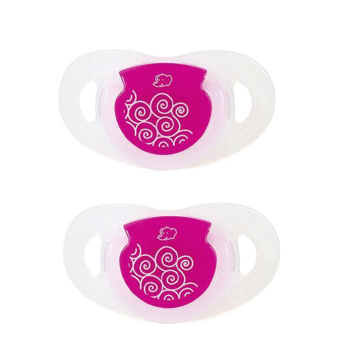Пустышка латексная Bebe Confort Physio Dummiies, с кольцом,  Размер T1, 0-6 месяца, 2 шт, в ассортименте соски bebe confort латексная стандарт 6 24 мес 3 шт