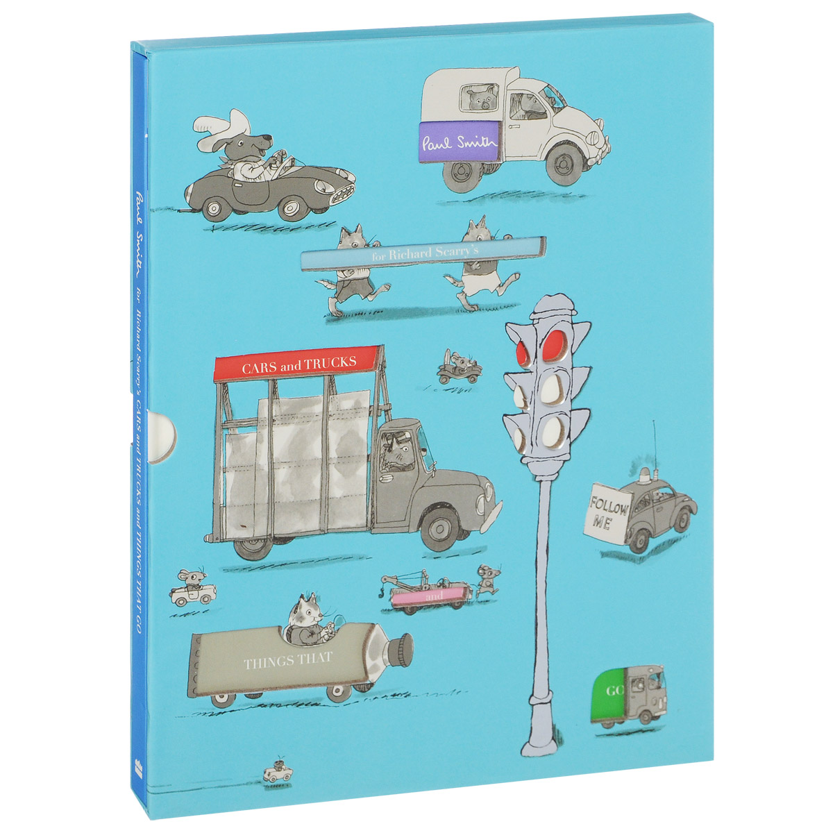 Richard Scarry's Cars and Trucks and Things That Go wilbur s book of things that go
