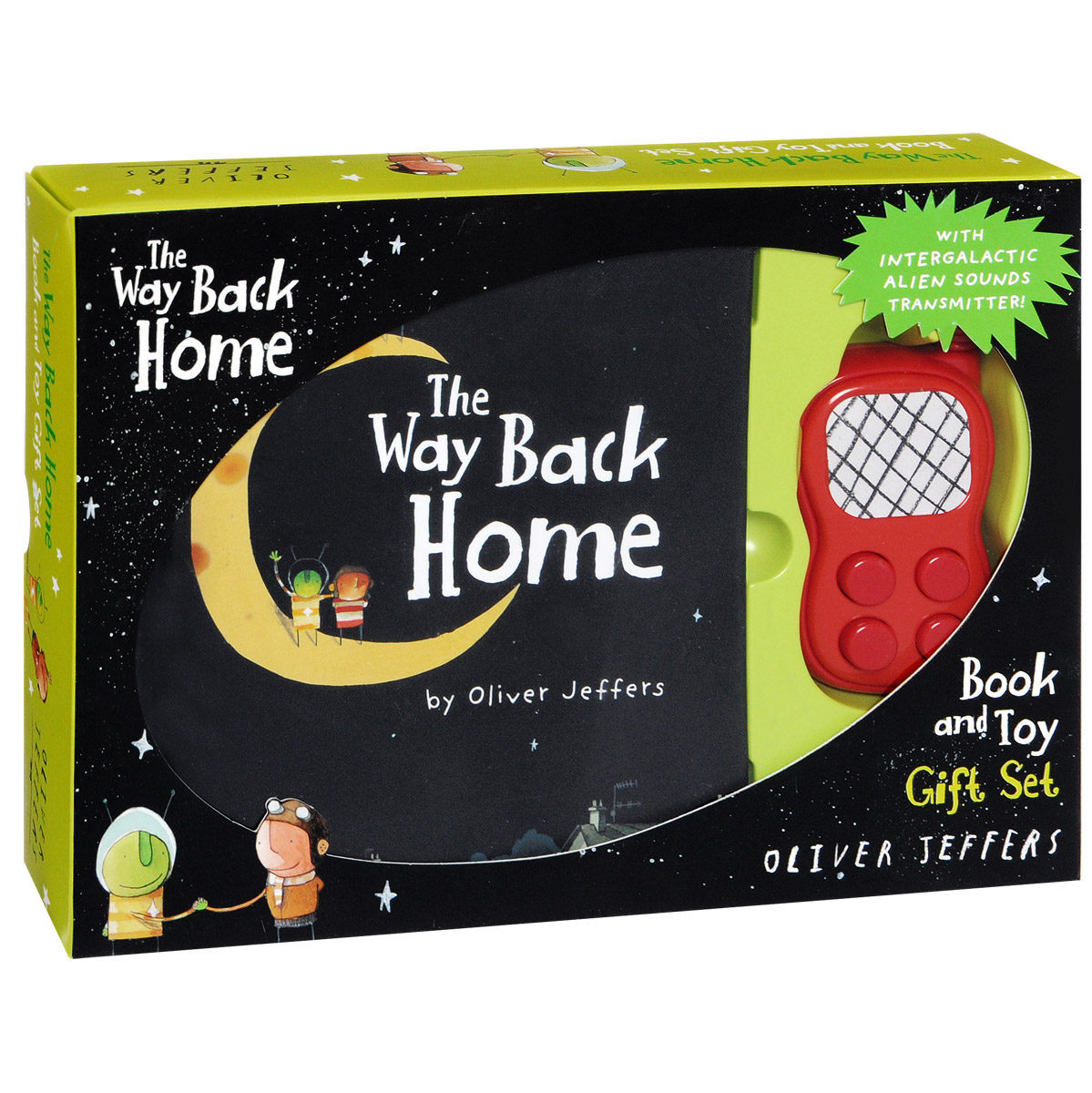 The Way Back Home Gift Set from the earth to the moon