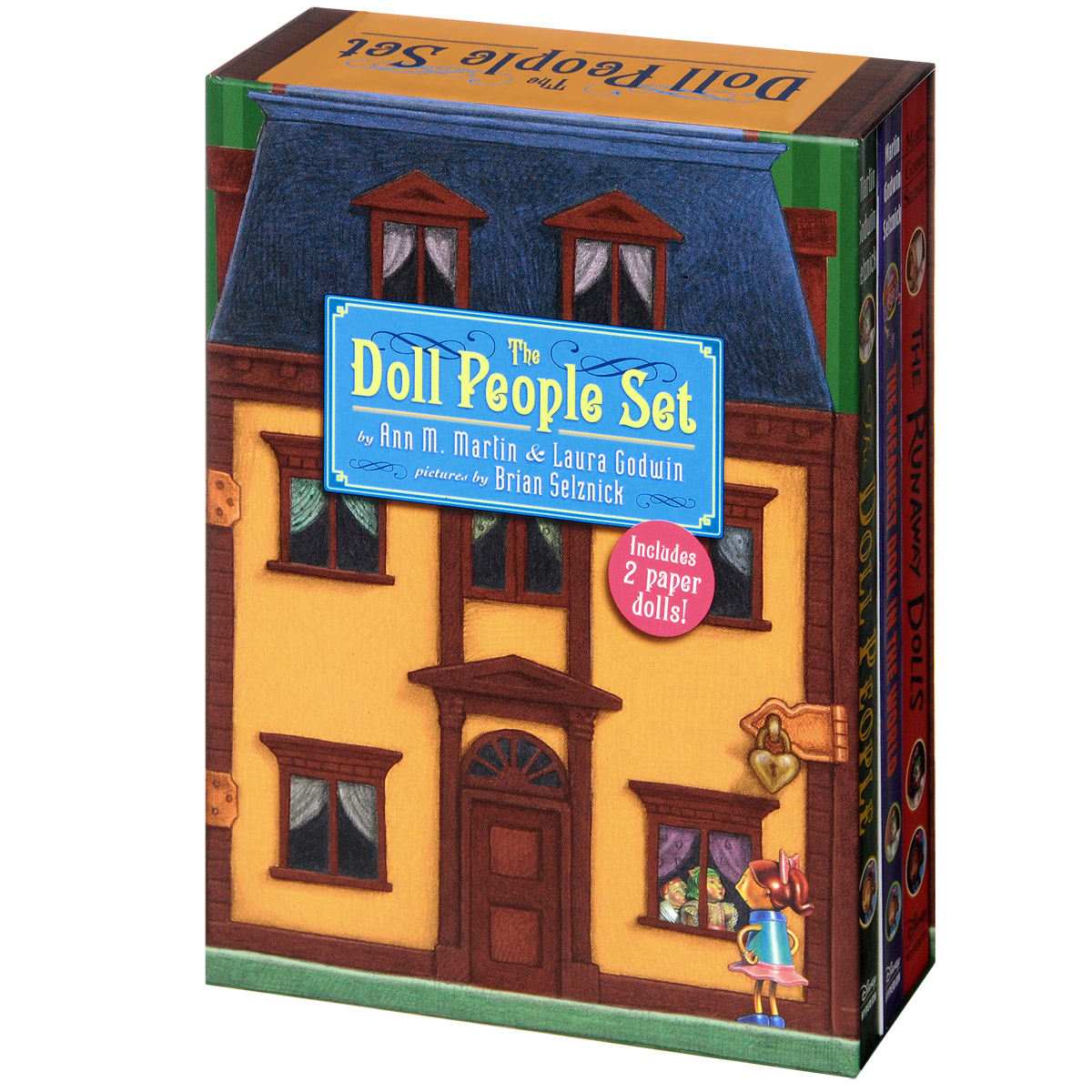 The Doll People Set (3 Book Paperback Boxed Set) 1 6 scale figure doll jurney to the west monkey king with 2 heads 12 action figures doll collectible figure model toy gift