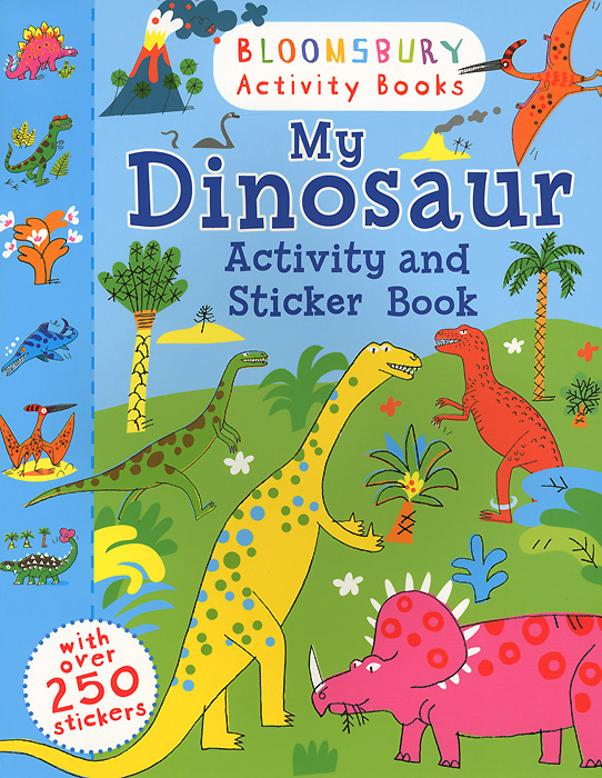 My Dinosaur: Activity and Sticker Book my own very hungry caterpillar colouring book