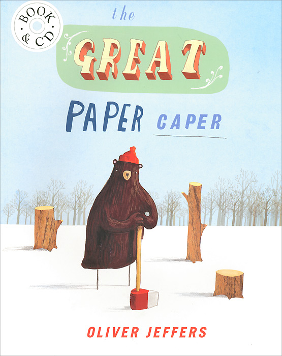 The Great Paper Caper (+ CD) forest homes