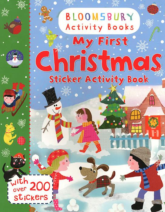 Купить My First Christmas: Sticker Activity Book