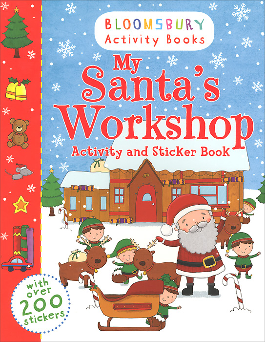 My Santa's Workshop: Activity and Sticker Book the usborne terrific colouring and sticker book