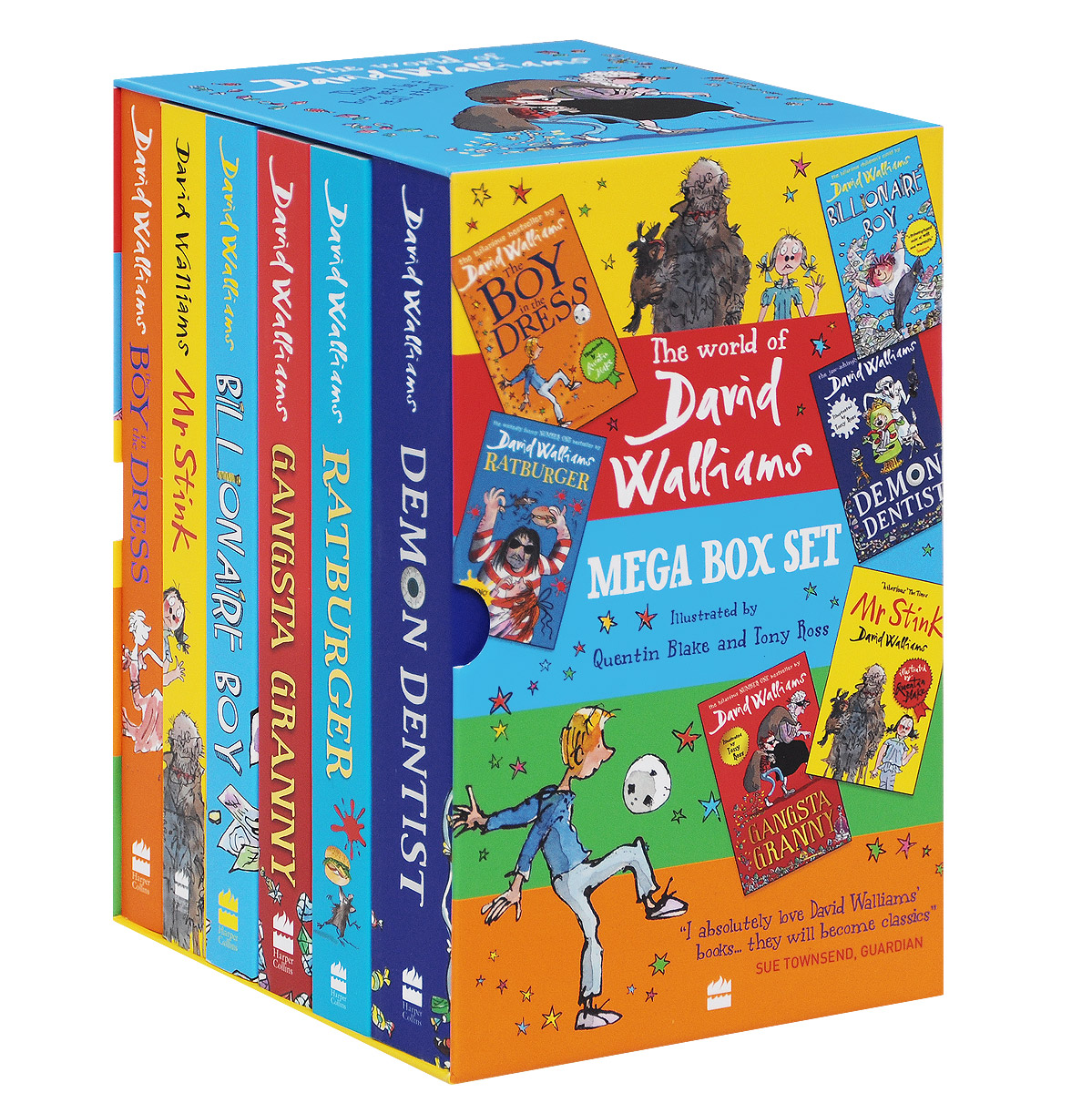 The World of David Walliams: Mega Box Set