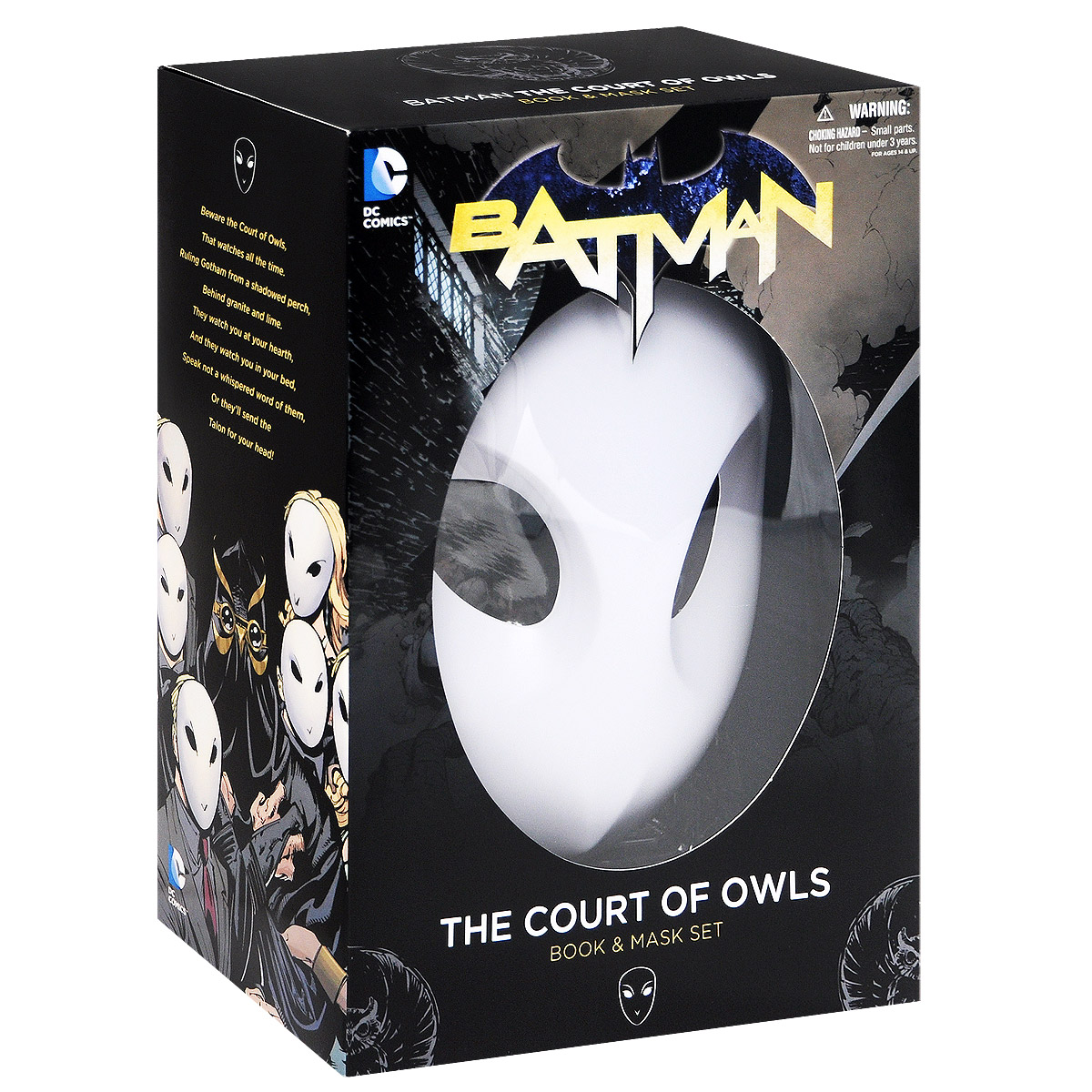 Batman: Volume 1: The Court of Owls (Book and Mask Set) batman volume 1 the court of owls