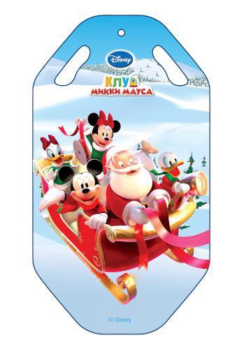 Ледянка Disney  Клуб Микки Мауса , длина 92 см - Катаемся с горки