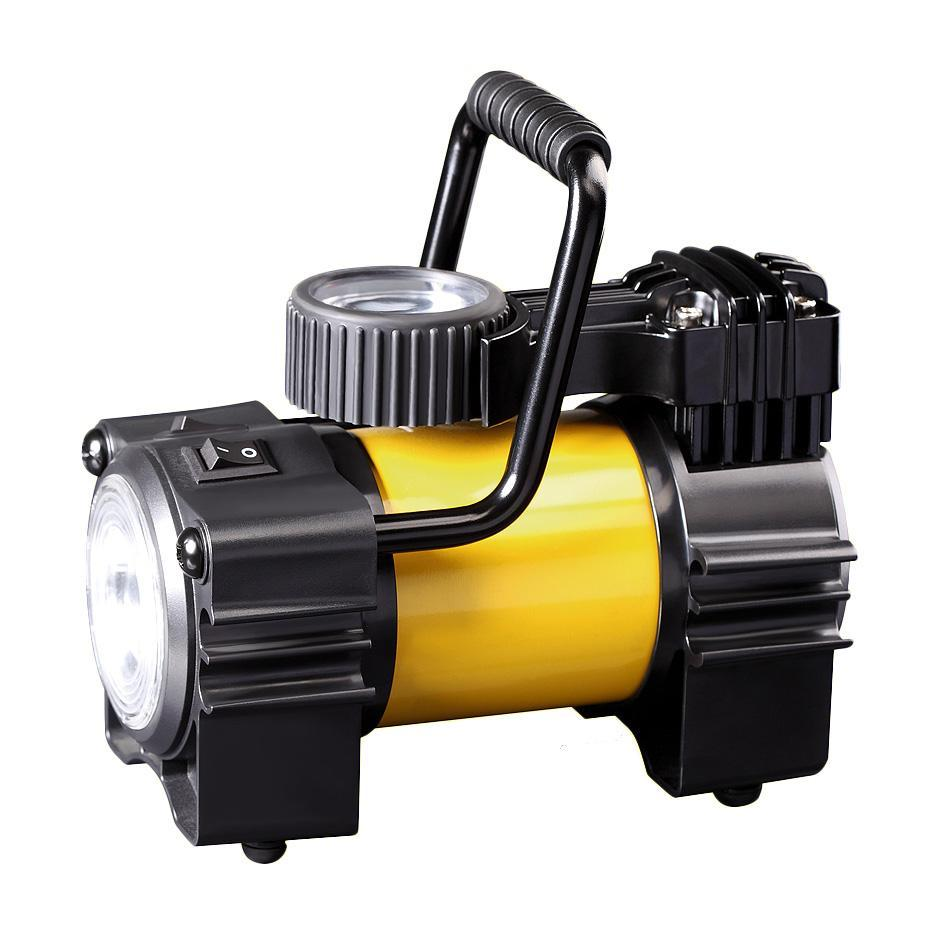 Компрессор автомобильныйКАЧОК K90 LEDK90LEDКомпрессор Качок К90 LED - является оптимальным выбором для владельцев легковых автомобилей и городских внедорожников. Модель имеет яркий светодиодный фонарик и спускной клапан дефлятор, с помощью которого можно стравить избыточное давление в колесе. Клапан установлен на поршне компрессора и для того, что бы стравить избыточное давление достаточно просто нажать на кнопку клапана.