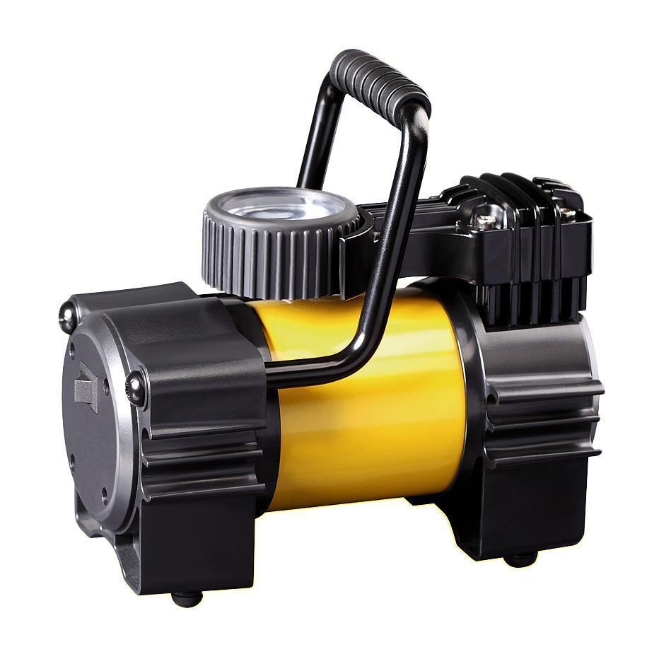 Компрессор автомобильныйКАЧОК K90K90Технические характеристики компрессора автомобильного Качок К 90Допустимое напряжение: 10-13,5 В Максимальный ток потребления: 14 А Максимальное давление: 10 Атм. (кг/см2) Время непрерывной работы: 30 мин. Производительность: 40 л/мин. Рабочая температура: -35°С +80°С Масса: 2,5 кг Навинчивающаяся насадка на ниппель колеса Подключение в гнездо прикуривателя Удобная ручка для переноски Точный двушкальный манометр Встроенный плавкий предохранитель - 15A Комплект поставки: Компрессор Качок К 90 Переносная сумка для хранения Набор переходных штуцеров для надувных изделий - 4 шт. Инструкция по эксплуатации Упаковочная коробка Материал: металл, пластик; цвет: желтый Материал: металл, пластик; цвет: желтый