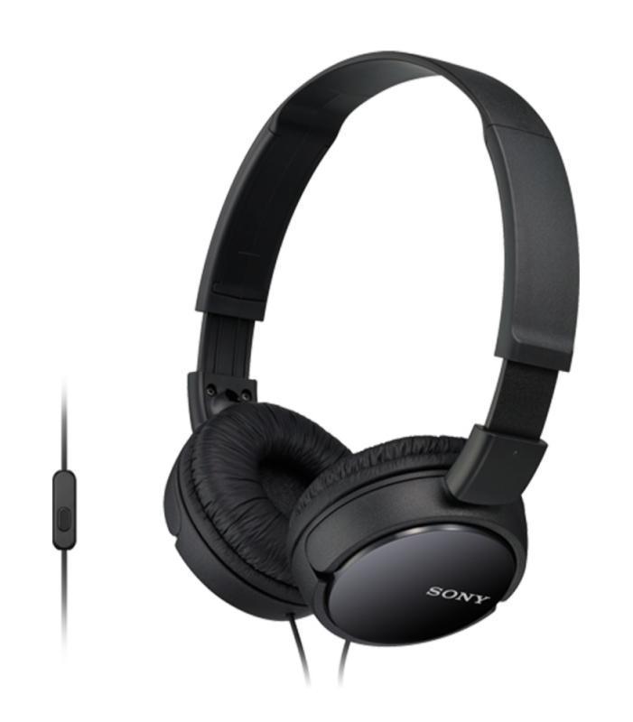 Sony MDR-ZX110AP, Black наушникиSony MDR-ZX110AP/BОкунитесь в мир музыки оставаясь на связи!Низкие звуковые частоты позволяют чувствовать звук, когда ритм ударных задает ритм вашего сердца и если глубокие и выразительные басы являются для вас одной из главных составляющих хорошего звука, вам стоит обратить внимание на линейку наушников Sony eXtra Bass (серия MDR-XB). Наушники Sony eXtra Bass созданы таким образом, чтобы воспроизводить мягкие резонирующие низкочастотные звуки в музыке любых направлений, обеспечивая великолепное звучание басов.Наушники MDR-ZX110AP оснащены 30-мм динамическими головками, что позволяют наслаждаться сбалансированным звучанием в любой ситуации, даже на ходу. А мягкие ушные накладки обеспечат бесконечный комфорт. Встроенный микрофон позволит всегда оставаться на связи, значительно расширяя функциональность смартфонов на базе Android.