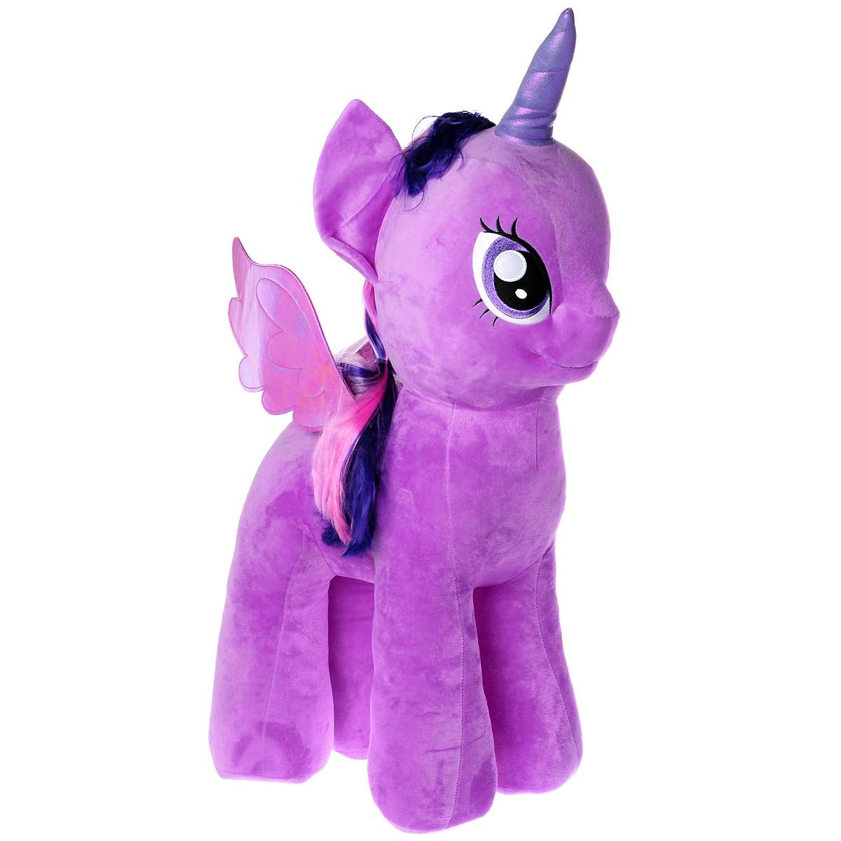 My Little Pony Мягкая игрушка Пони Twilight Sparkle, 76 см ty мягкая игрушка брелок пони apple jack 10 см