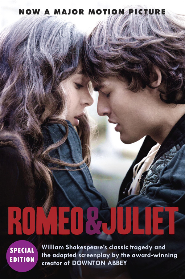 William Shakespeare: Romeo and Juliet: Julian Fellowes: Adapted Screenplay Romeo and Juliet crash romeo crash romeo give me the clap