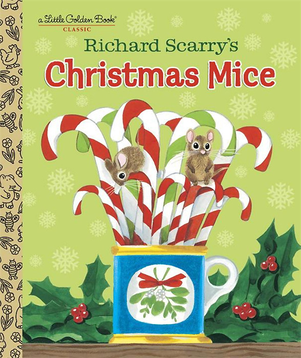 Richard Scarry's Christmas Mice richard scarry s please and thank you book