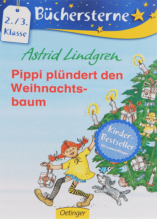 Pippi plundert den Weihnachts-baum астрид линдгрен на острове сальткрока