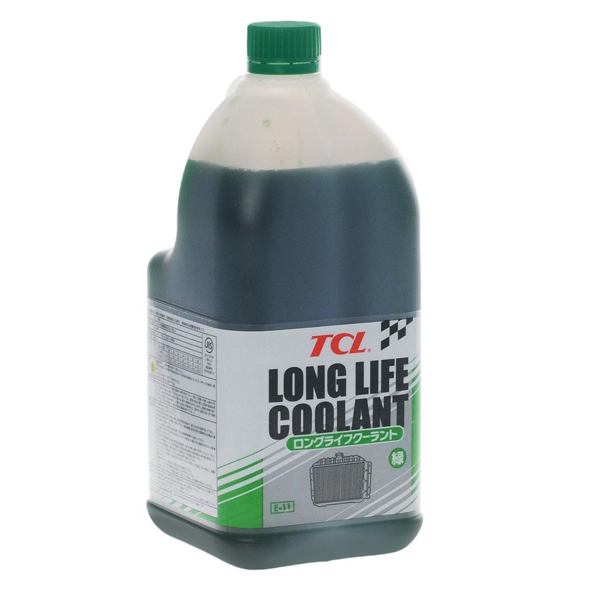 Антифриз TCL LLC, концентрированный, цвет: зеленый, 2 лLLC00987Высококачественная охлаждающая жидкость TCL LLC, препятствующая перегреву двигателей даже в сильную жару и замораживанию системы охлаждения в сильный мороз. Защищает от коррозии металлические части системы охлаждения и удаляет с них ранее образовавшиеся окислы. Является отличной смазкой для помп. Сохраняет свои качества в системах охлаждения в течение 2 лет. Антифриз зеленого цвета предназначен для всех автомобилей, кроме TOYOTA и DAIHATSU. Концентрированный антифриз обязательно нужно использовать в разбавленном виде 25~60 %.Состав: этиленгликоль, метанол, комплекс присадок.